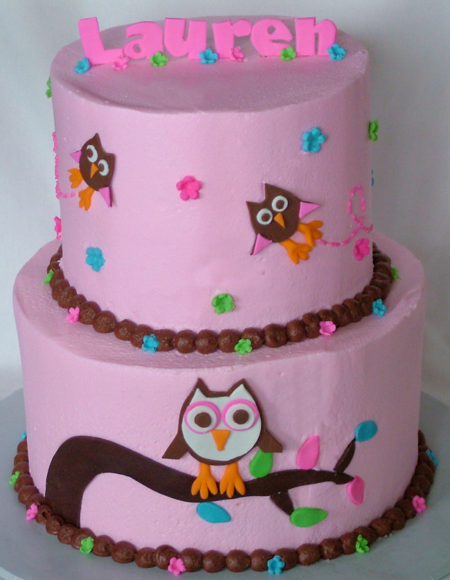 A Sweet Cake Blog Archive Pretty Pink Owl