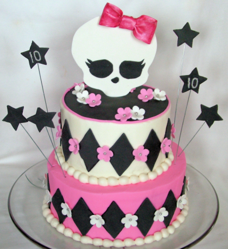 A Sweet Cake » monster high