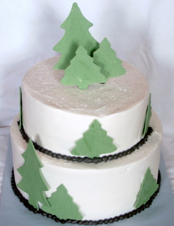 Pine Forest Cake - A Sweet Cake