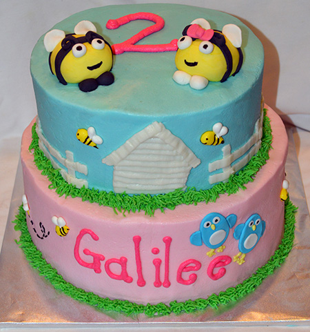 Little Bees Cake - A Sweet Cake